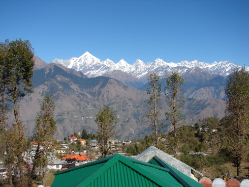 Panchachuli from our room