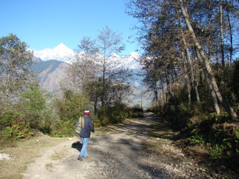 On the way to Naina Devi temple