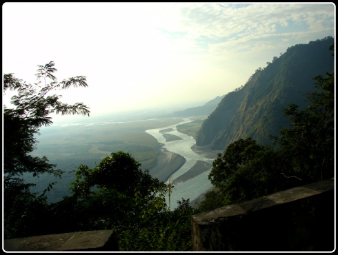 As we climb down the mountains - Lohit river