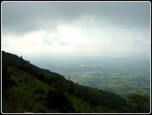 View of Godavari from the pavilion