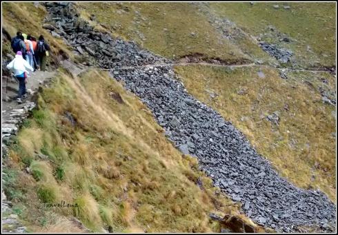 Landslides at Ghora Lautani