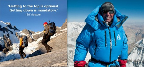 Ed Viesturs [Photo Courtesy Pinterest, National Geographic]